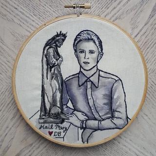 Custom David Bowie Portrait