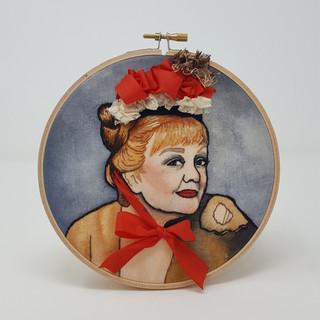 Custom Portrait of Angela Lansbury