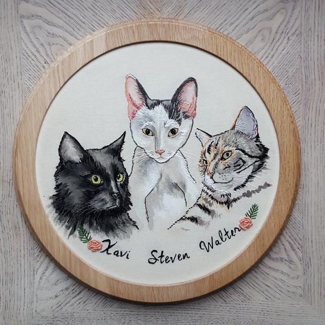 """Xavi, Steven and Walter"""