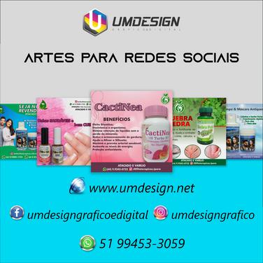 artes redes sociais criacao umdesign gra