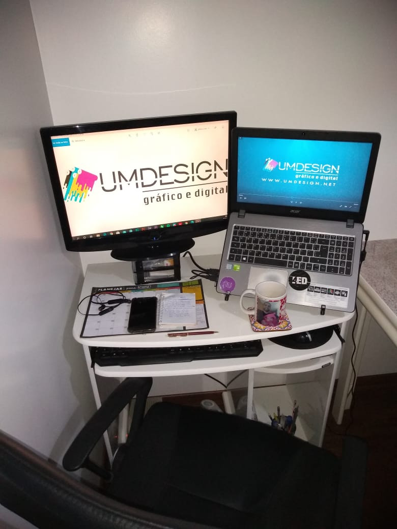 Home office Umdesign Gráfico e Digital