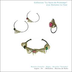 """Collection """"Le Sacre du Printemps"""" avec Hortense La Tour"""