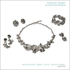"Collection ""Gingko"" avec Giovanni Raspini"