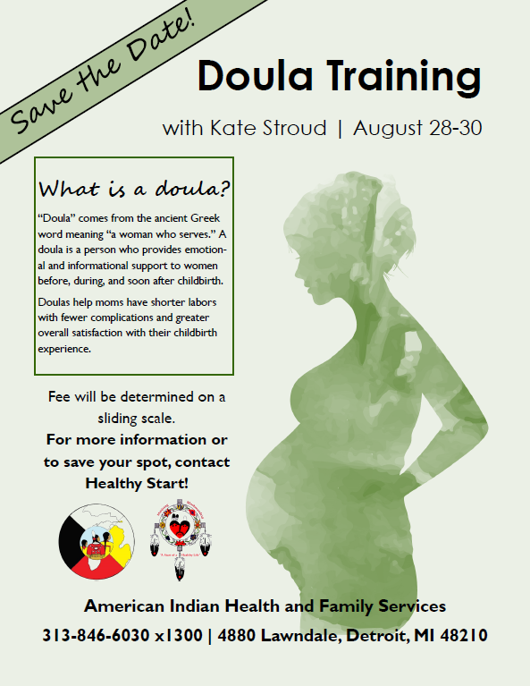 Doula Training with Kate Stroud. Detroit.