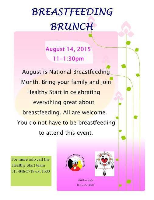 Breastfeeding Brunch in Detroit