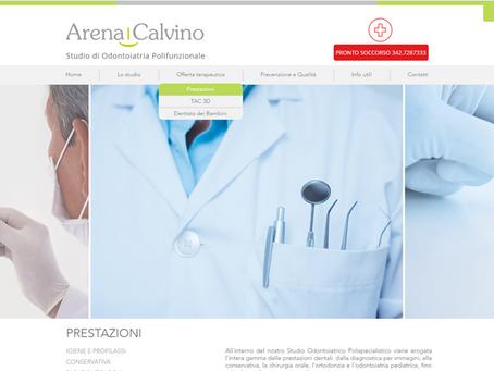 Il Sito Arena e Calvino è online