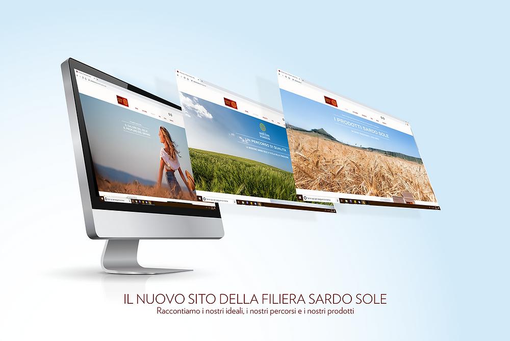 Progettazione del sito internet Sardo Sole | AEIO
