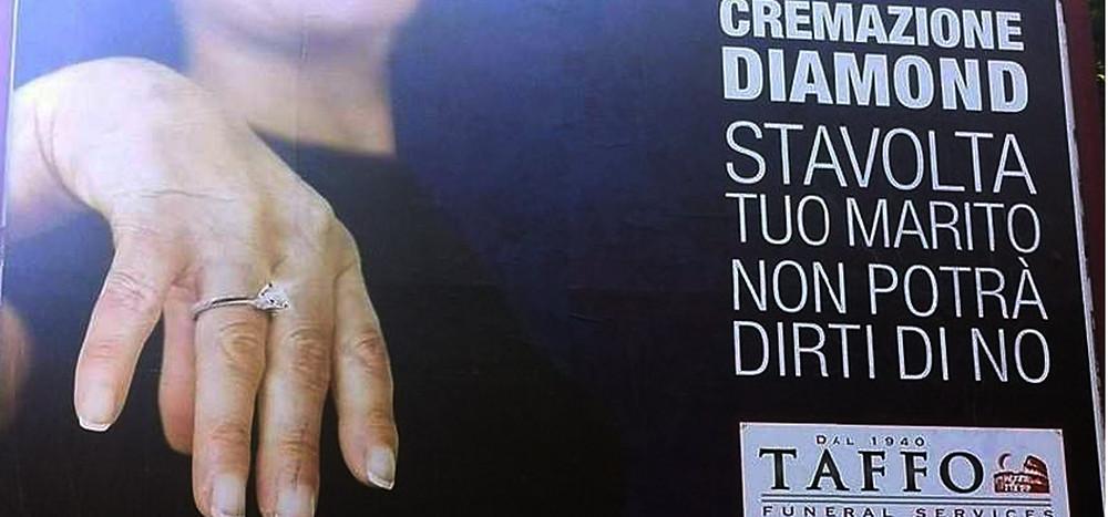 Campagna pubblicitaria cremazione