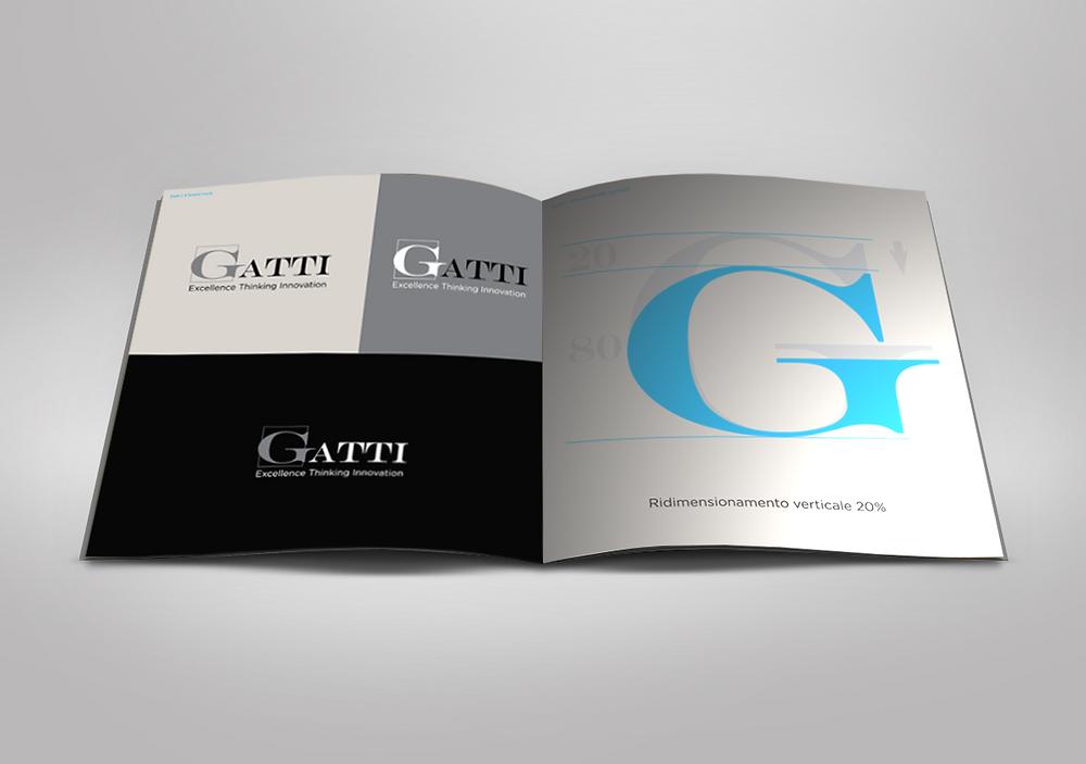 Interno del brand book ETI Gatti