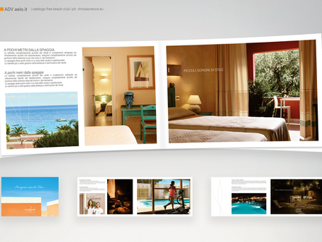 Grafica per hotel e resort