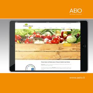 Il sito internet Fresco Secco | AEIO