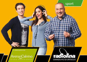 Sponsorizzazione Sportiva Radiolina Arena e Calvino | AEIO