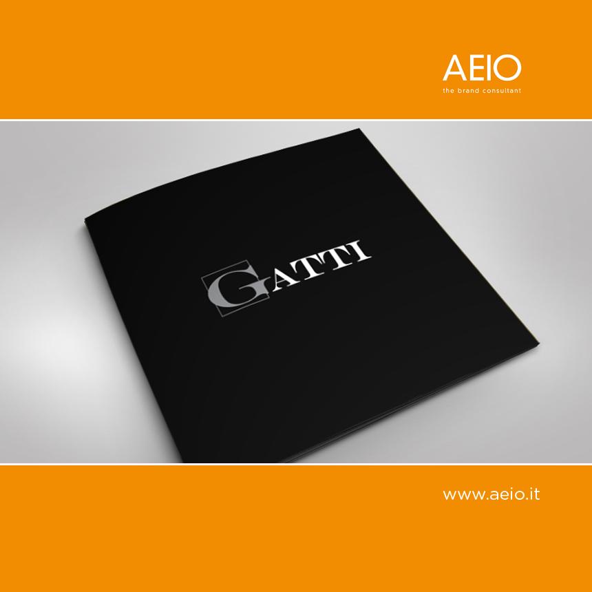 Copertina del Brand Book ETI Gatti