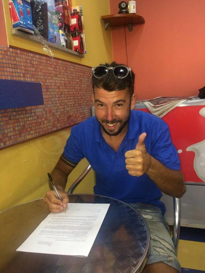 Marco Serra è un nuovo giocatore della MED