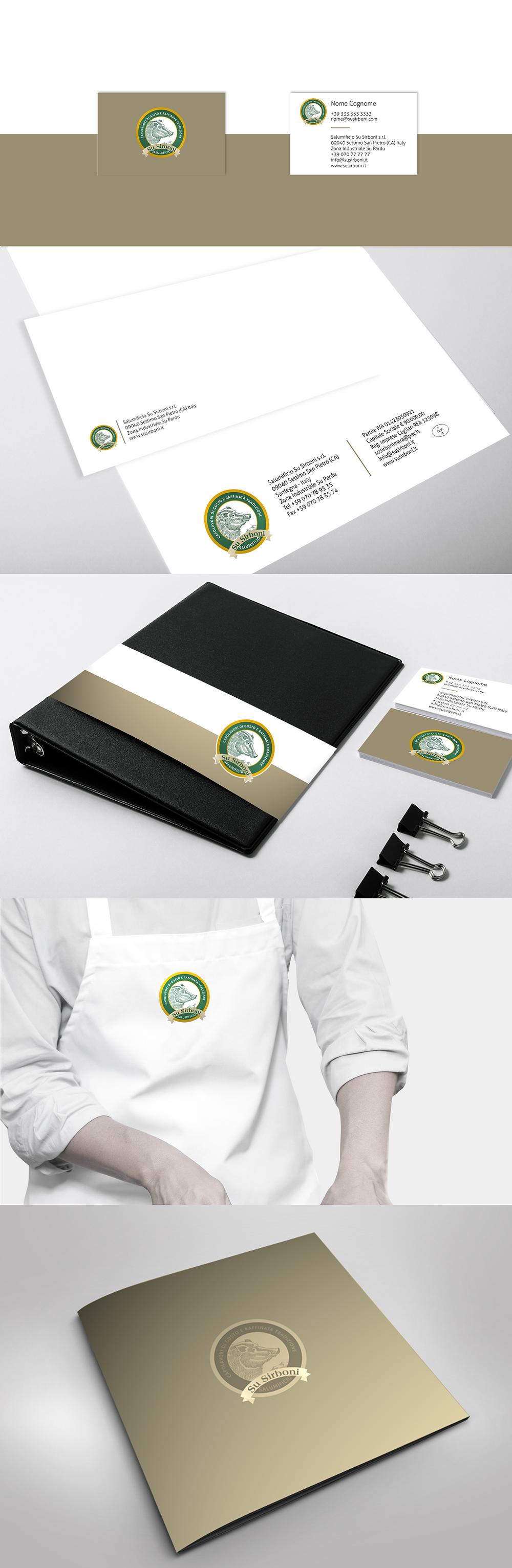 Immagine corporativa | Progetto grafico AEIO per Su Sirboni