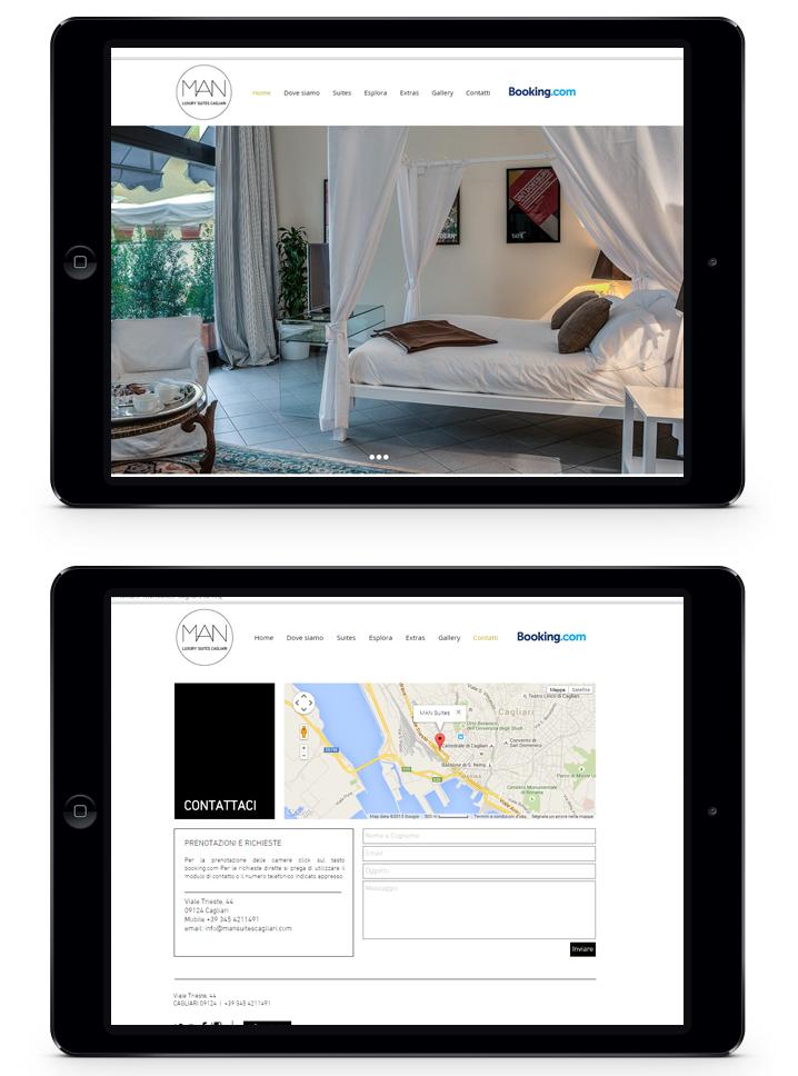 MAN suites website