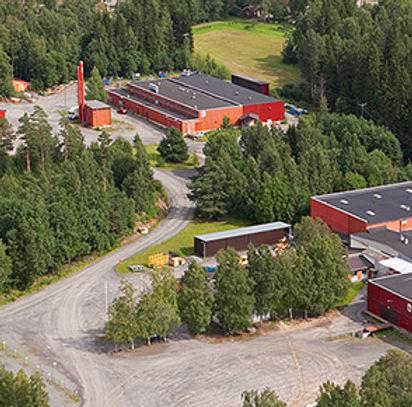 Finnmirror, fabriken