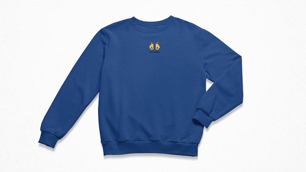 Changes Blue Sweatshirt