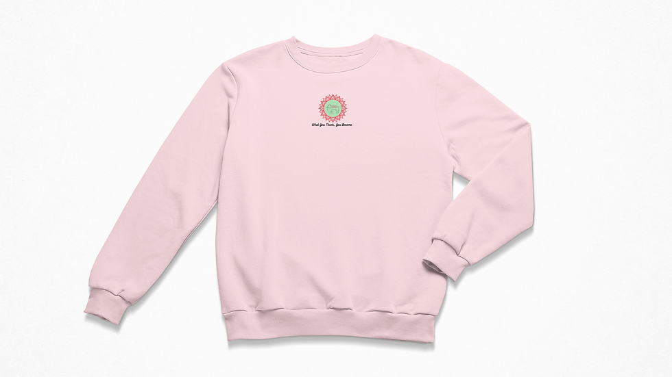Enlighten Pink Sweatshirt