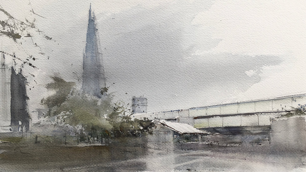 The Shard from Cathedral Street