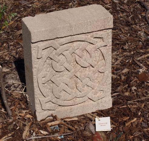 Celtic Knot Garden stone