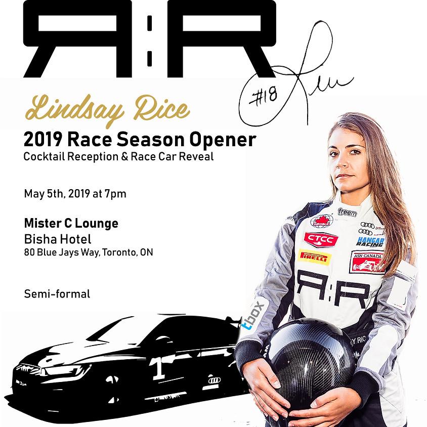 Lindsay Rice - 2019 Race Season Car Reveal Cocktail Reception