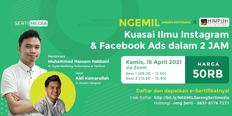 NGEMIL : Kuasai Ilmu Instagram & Facebook Ads dalam 2 Jam (1)
