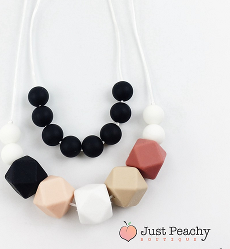 Double Teething Necklace
