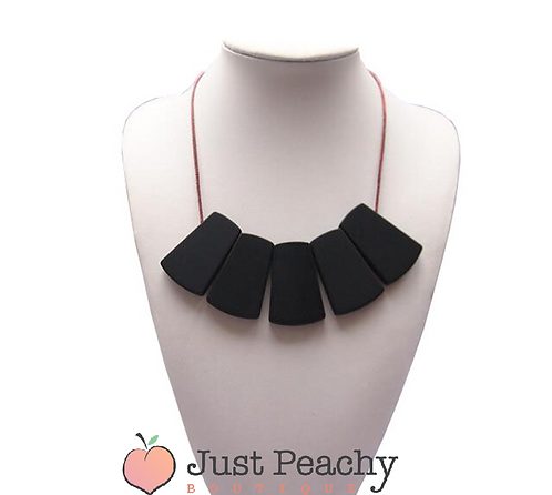 Statement Silicone Teething Necklace
