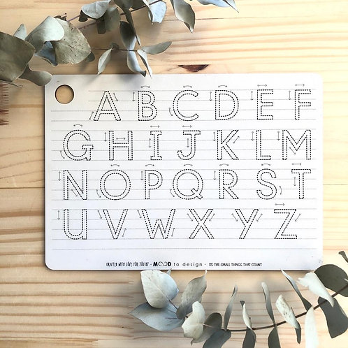 LEARN TO WRITE – ABC UPPER