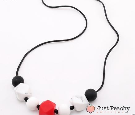 7 Bead Hexagon Teething Necklace