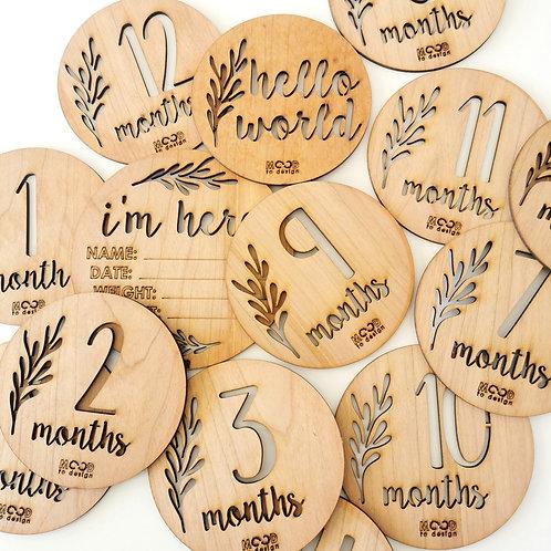 Milestone Countdown Discs