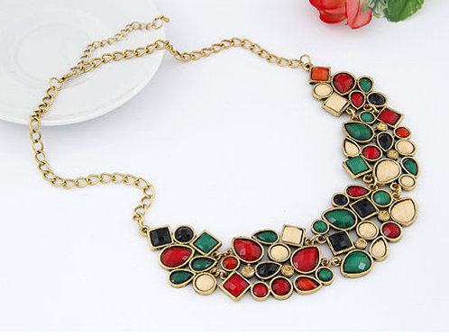 VIBRANT NECKLACE - MULTICOLOR