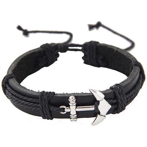 Men's Wristlet - Anchor Pendant