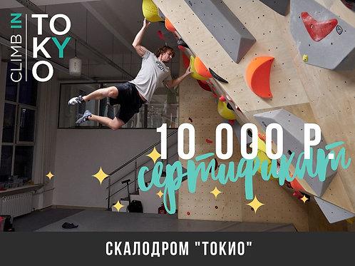 Сертификат 10 000 р.