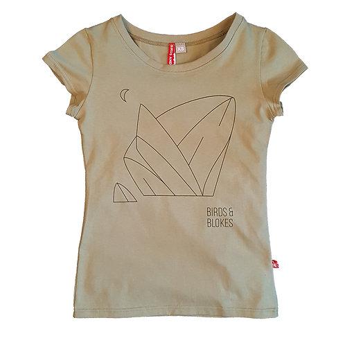Женская футболка MOONROCK