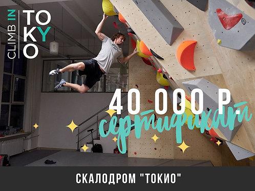 Сертификат 40 000 р.
