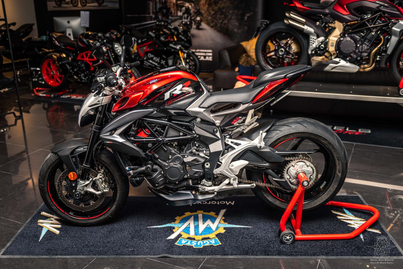 2019 MV Agusta Brutale 800 RR Red/Black