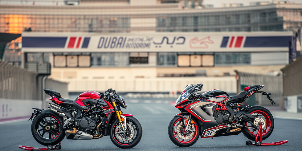 Wheels of Arabia & MV Agusta Track Experience Day - 20th November 2020