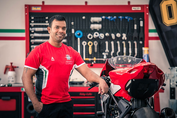 Mahesh Prasanna | Technician | MV Agusta UAE | Wheels of Arabia UAE