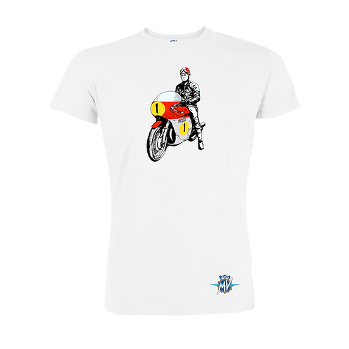 Reparto Corse Vintage Rider T-Shirt White