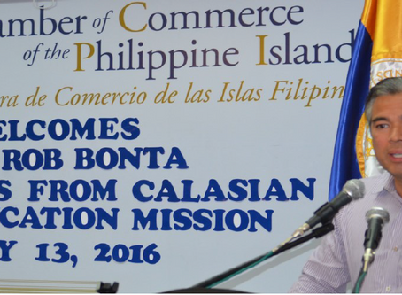 CalAsian Chamber Goes to the Philippines