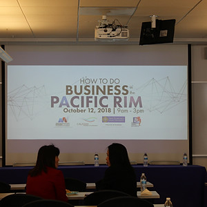 2018 How to Do Business in the Pacific Rim in Partnership with SFSU