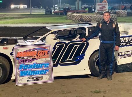 Wisconsin Driver Scheffler Friday Night Winner at Farmer City