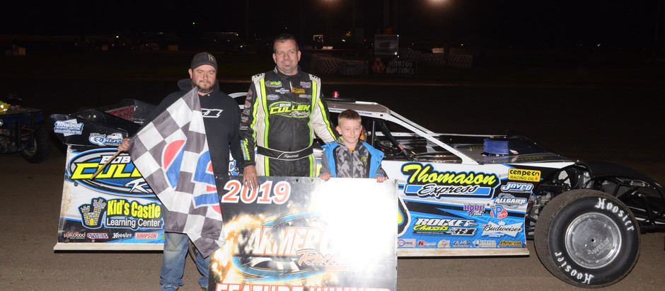 Shirley, Nichols Headline Winners at Farmer City