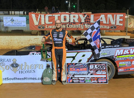 Late Race Pass Lifts Bailes to Shrine Race Victory at Laurens County