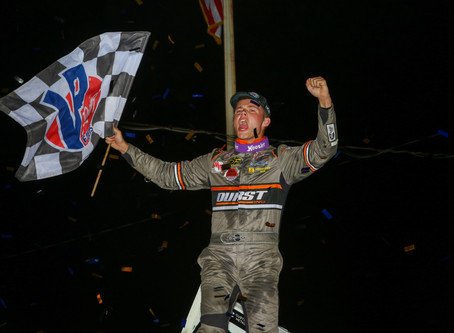 Price-Miller Holds on at 34 Raceway