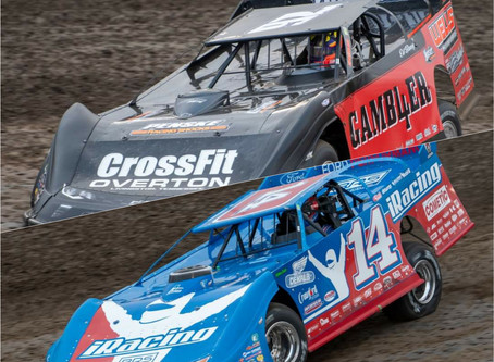 Richards, Overton Front Row for I-80 Finale