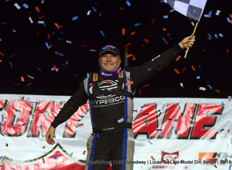 Owens Rebounds on Night 2 at I-80