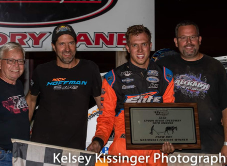 Hoffman Finishes Weekend With Plow Boy Nationals Win